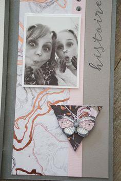Mise en avant de produit par Christine - Espace Créatif VC Prima Marketing, Mini Albums Scrapbook, Scrapbooking, Frame, Wedding, Creative Area, Picture Frame, Frames, Scrapbooks