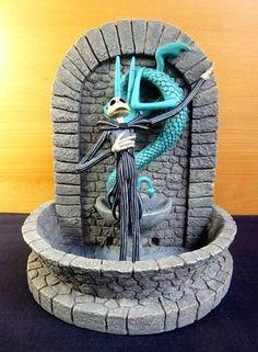 Nightmare Before Christmas Jack Skellington Fountain