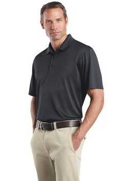 Buy the CornerStone - Select Snag-Proof Polo Style CS412 from SweatShirtStation.com, on sale now for $21.99 #polo #golf #cornerstone Charcoal Angle