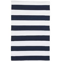 Dash and Albert Rugs Catamaran Striped Black/White Indoor / Outdoor Area Rug & Reviews   Perigold Shop Awning, Indoor Water Fountains, Dhurrie Rugs, Dash And Albert, Navy Rug, Rug Sale, Indoor Outdoor Area Rugs, Outdoor Decor, Catamaran