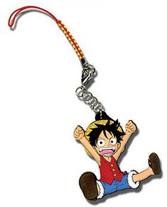 One Piece Phone Charm - Chibi Luffy