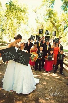 You know what they say: Everyone loves a bride. | Wedding Photos That Prove Two Brides Are Better Than One