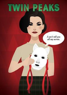 Twin Peaks - Daniel Nyari Graphic Design & Illustration I love this
