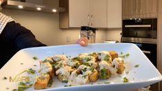 A plant-based entree Vegetarian Main Course, Vegan Vegetarian, Vegetarian Recipes, Cooking Recipes, Healthy Recipes, Crispy Tofu, Baked Tofu, Good Food, Yummy Food