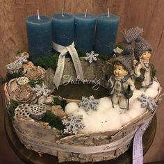 Winter Christmas, Xmas, Christmas Centerpieces, Advent, Festive, Table Decorations, Home Decor, Corona, Drift Wood