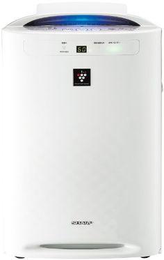 SHARP Air Purifier with Humidifying Function 450mL/h WhitePowerful Plasmacluster7000 KC-B50-W - http://www.majestyappliance.com/sharp-air-purifier-with-humidifying-function-450mlh-whitepowerful-plasmacluster7000-kc-b50-w/
