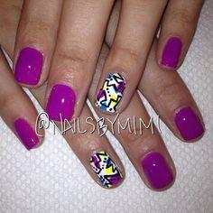 Instagram photo by  nailsbymimi  #nail #nails #nailart
