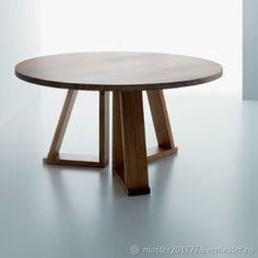 Купить Обеденный стол круглый в интернет магазине на Ярмарке Мастеров