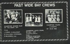 Past Wide Bay Rowing Crews. Photo courtesy of Neil Magarry