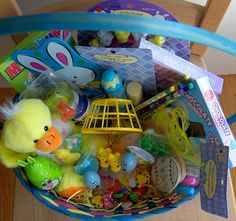 50+ Ideas for Filling Easter Baskets from CreativeCynchronicity.com
