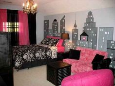 NYC Room | 20 Awesome Girl Bedrooms