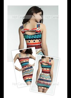 Aliexpress.com : Buy 2015 New Arrival Women'S Dresses Casual A Line Stretch Mini Bandage Dress Summer Girl Ethnic Print Costume from Reliable dress fashion girl suppliers on Hot Genie Authentic Brand Shop   Alibaba Group