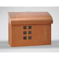 Satin Nickel Brass Mailbox Fuoriserie Wall Mounted Mailboxes Outdoor