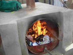 Beginilah cara membuat incinerator sederhana yang mudah dan praktis , hanya dengan menggunakan tong besi bekas .