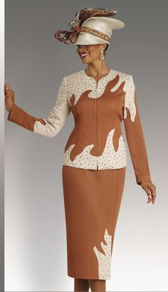 DVK13099-828,Donna Vinci Knits Suit For Church Fall And Holiday 2015 www.Bossmanunlimited.com