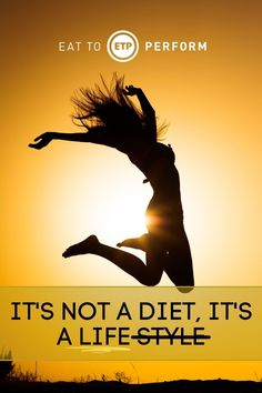 """I have a confession, I have said it too (many times in fact). """"It's not a diet it's lifestyle"""" and in a lot of ways whenever you trade some bad habits for good habits you certainly have benefited from that lifestyle change. Which brings me to a story that was the birth of what would eventually become Eat To Perform. Healthy Motivation Quotes, Healthy Lifestyle Motivation, Good Health Tips, Healthy Tips, Eat To Perform, Good Habits, Lifestyle Changes, Motivate Yourself, Confessions"""
