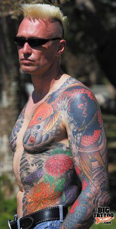 Russell full tattoo