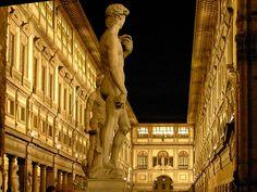 Uffizi Gallery  Florence, Italy