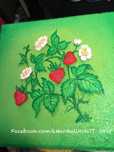 Strawberries stepping stone