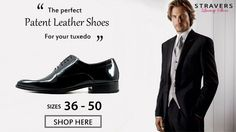 Tuxedo, Dinner jacket? Patent leather men's shoes small sizes 36, 37, 38, 39 large shoe sizes 47, 48, 49, 50. See unique collection >>
