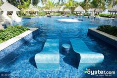 The Adults-Only Pool at the Barcelo Bavaro Palace Deluxe