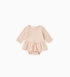 ミニドットドレス-ドレス & ロンパ-ス-ミニ (0 - 12ヶ月)-キッズ | ZARA 日本