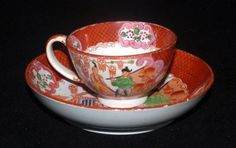 ANTIQUE-ENGLISH-PEARLWARE-PORCELAIN-CHINESE-EXPORT-STYLE-CUP-amp-SAUCER