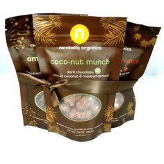 Organic Dark Chocolate Munch 3-Pack, Choose Your Flavors