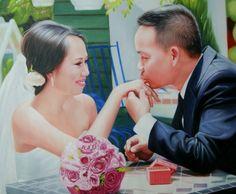WeddingPortraits | WeddingPaintings | Bridal Portraits #wedding…
