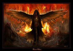 Pheonix = I am a fire sign ~ Aries ~ and I've chosen NOT to let the fire consume me, but to build myself into MORE!