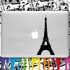 Paris decal for Macbook