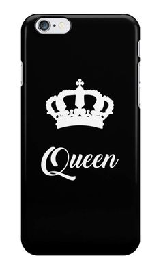 Our Queen Phone Case! is available online now for just £5.99.    Get your other half matching a matching phone case with this KING phone case HERE.    Material: Plastic, Production Method: Printed, Weight: 28g, Thickness: 12mm, Colour Sides: Black, Compatible With: iPhone 4/4s | iPhone 5/5s/SE | iPhone 5c | iPhone 6/6s | iPhone 7 | iPod 4th/5th Generation | Galaxy S4 | Galaxy S5 | Galaxy S6 | Galaxy S6 Edge | Galaxy S7 | Galaxy S7 Edge | Galaxy S8 | Galaxy S8+ | Galaxy J5, Features: Slim…