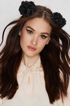 Play it by Ear Floral Headband - Accessories