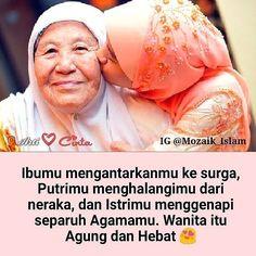 Ibumu mengantarkanmu ke surga Putrimu menghalangimu dari neraka dan Istrimu menggenapi separuh Agamamu. Wanita itu Agung dan Hebat  . Masih mau nyakiti hati perempuan?  . . Follow @pesantrenyatim Follow  @pesantrenyatim Follow @pesantrenyatim . . .  @mozaik_islam http://ift.tt/2f12zSN
