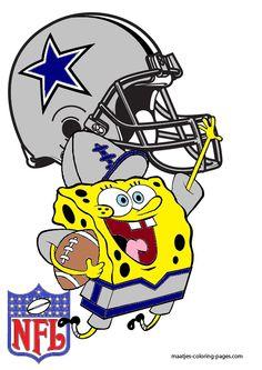 DeviantArt: More Like SpongeBob Dallas Cowboys by bubbaking
