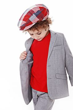 Fore!! Axel and Hudson Heather Gray Mod Scooter Suit