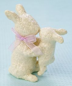 Another great find on #zulily! Resin Nosey Bunny Figurine #zulilyfinds