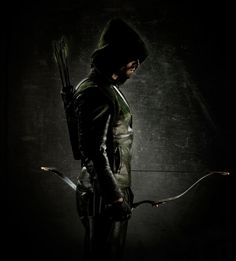 """First look at Stephen Amell in his Green Arrow. - First look at Stephen Amell in his Green Arrow costume """" Executive producer David Nutter says: """" When I directed the pilot for Smallville, I knew that making Clark Kent relatable would be the key to. Green Arrow Tv, The Arrow, Arrow Cw, Arrow Oliver, Arrow Image, Arrow Quote, Arrow Tv Series, Cw Series, Arrow Serie"""