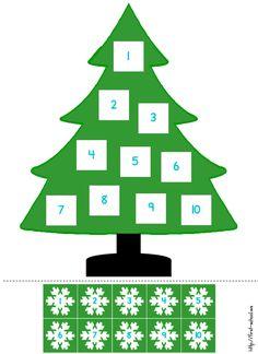 Christmas Games For Kids, Christmas Math, Winter Crafts For Kids, Christmas Activities, Christmas Crafts, Pre K Activities, Preschool Learning Activities, Preschool Printables, Preschool Activities