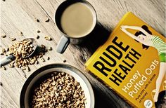 RUDE HEALTH   Honey Puffed Oats Go whole-grain for breakfast with these light and toasty puffs, delicately drizzled with honey!    For more, check out: rudehealth.com  OR thestrugglingvegan.weebly.com for info and other veggie + vegan treats!  #vegan #vegetarian #cereal #rudehealth #sugar #puffs #breakfast
