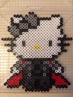 Hello Kitty Thor perler beads by Jenny Long