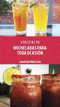 Michelada Recipe, Luna Bars, Alcoholic Drinks, Cocktails, Alcohol Drink Recipes, Sangria, Bartender, Cantaloupe, Dips