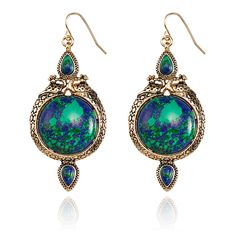 SAMANTHA WILLS - ROAMING EXISTENCE EARRINGS - TURQUOISE
