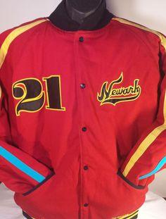 Stall & Dean Newark Eagles Negro League Baseball Mens Size 3XL Varsity Jacket #StallDean #NewarkEagles