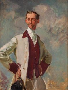 Prince Philippe de Caraman-Chimay (portrait study) 1914 by Jacques-Emile Blanche (French 1861-1942)