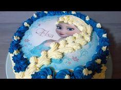 Tort Elsa Kraina Lodu Frozen - YouTube Frozen, Birthday Cake, Youtube, Desserts, Tailgate Desserts, Birthday Cakes, Deserts, Dessert, Cake Birthday