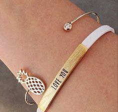 Bracelets & Bangles Oly2u Adjustable Simple Handmade Bow Knot Silver Bracelets Bangles For Women Love Bangle Cuff Viking Bracelets