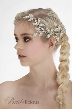 My Eternal Aphrodite bridal hair vine  Stunning por SoBridelicious, $120.00