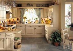 Kitchen Design Beige Small Country Kitchen Design With Colorful Ceramic Tile Backsplash And Above Cabinet Kitchen Accessories Also Double Bowl Drop In Kitchen Sink The Fairly Country Designs For Your Kitchen Drop In Kitchen Sink, New Kitchen, Kitchen Decor, Beige Kitchen, Cozy Kitchen, Family Kitchen, Stylish Kitchen, Small Country Kitchens, Country Kitchen Designs