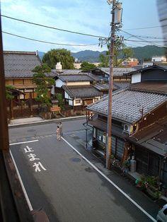 View from Minshuku (guest-house), Takayama, Japan 高山